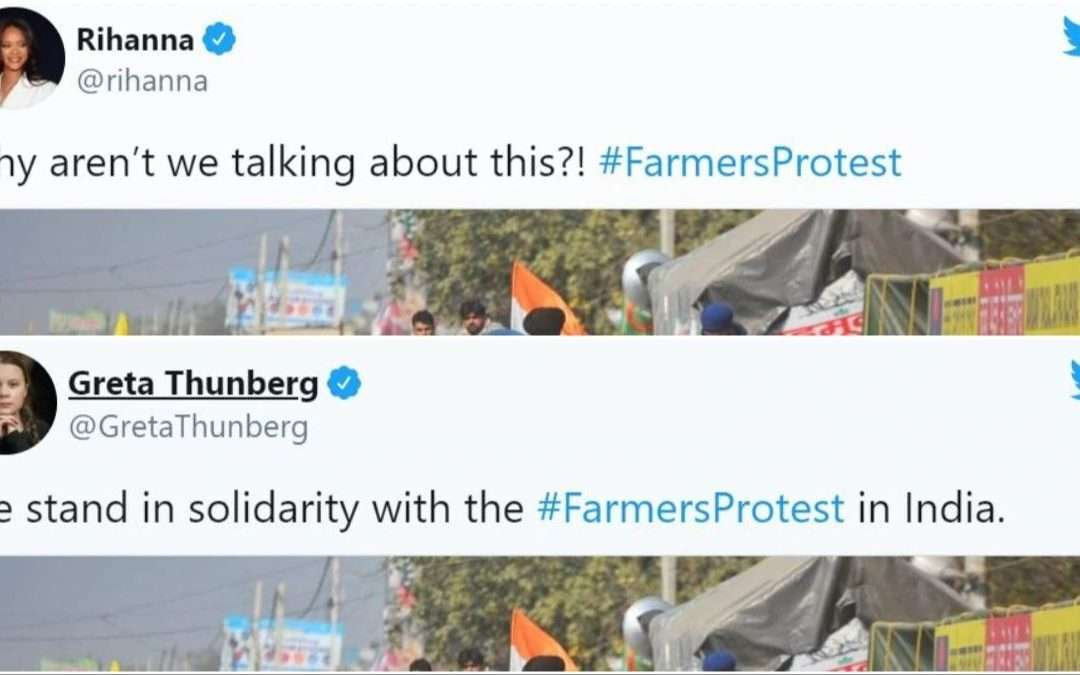 Fake Celebrities Speaking Out – Farmer's Protest Goes Vogue